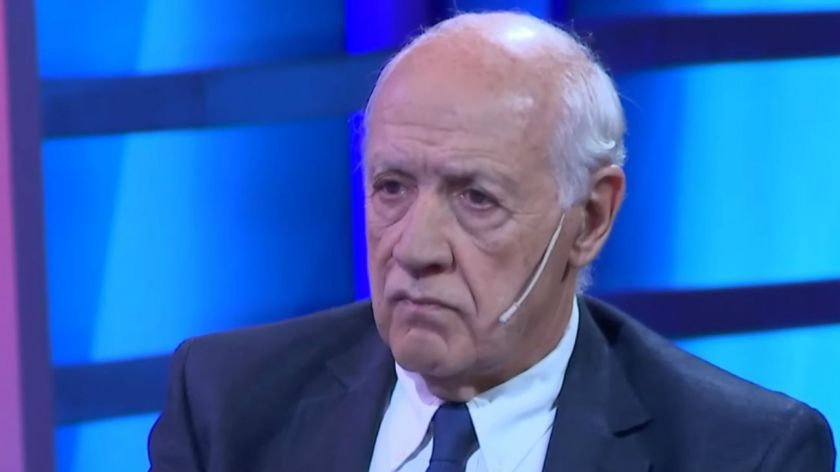Roberto Lavagna fue entrevistado en Crónica TV por Santo Biasatti.